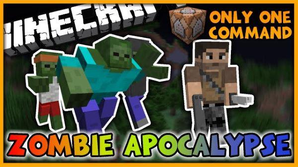 Zombie Apocalypse для Майнкрафт 1.10.2
