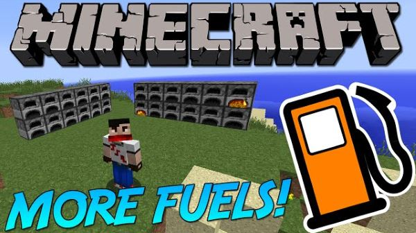 More Fuels для Майнкрафт 1.10.2