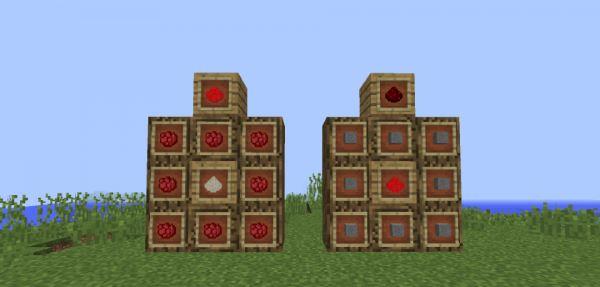 Crafting Redstone для Майнкрафт 1.8.9