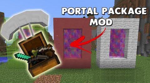 Portal Packages для Майнкрафт 1.8.9