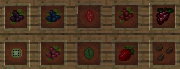 HarvestCraft для Майнкрафт 1.10.2