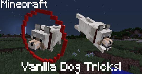 Dog Tricks для Майнкрафт 1.10.2