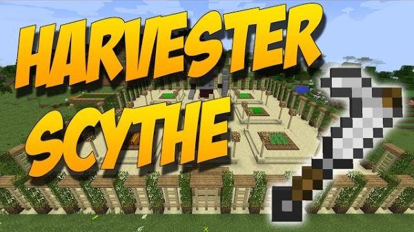Harvester Scythe для Майнкрафт 1.10.2