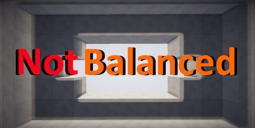 Not Balanced для Майнкрафт 1.10.2