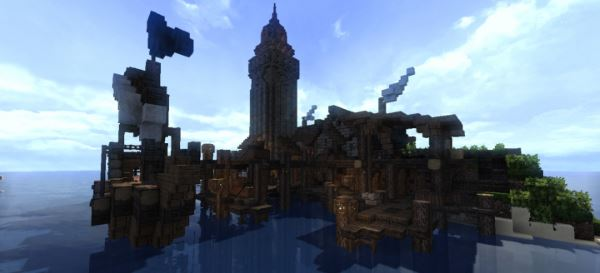 Seafar Island для Майнкрафт 1.10.2