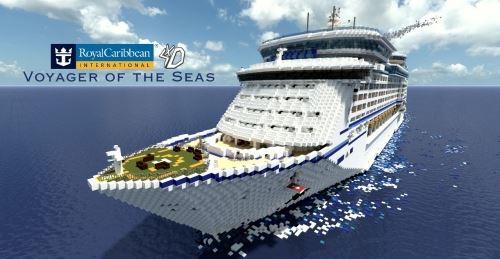 Voyager of the Seas для Майнкрафт 1.10.2