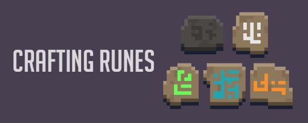 Crafting Runes для Майнкрафт 1.10.2