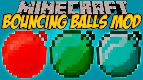 Bouncing Balls для Майнкрафт 1.10.2