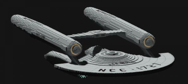 USS Newton NCC-1727 для Майнкрафт 1.10.2