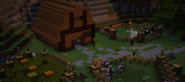Raven Village для Майнкрафт 1.10.2
