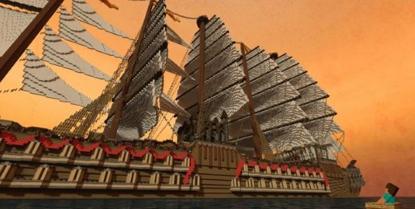 Giant Ship для Майнкрафт 1.10.2
