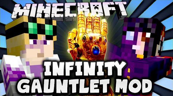 Infinity Gauntlet для Майнкрафт 1.8