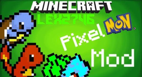Pixelmon для Майнкрафт 1.10.2