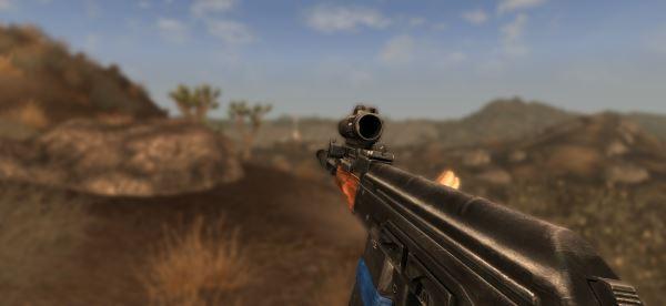 AK 74 для Fallout: New Vegas