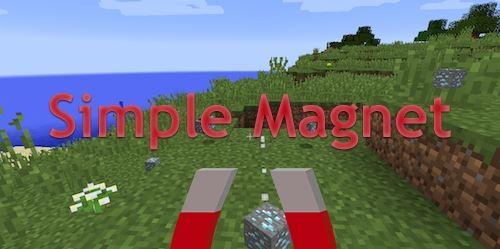 Simple Magnet для Майнкрафт 1.10.2