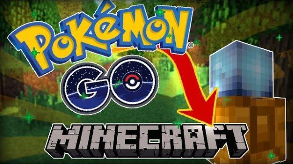 Pokemon GO для Майнкрафт 1.10.2