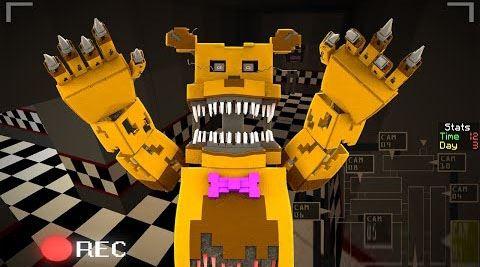 Five Nights At Freddy's 3 для Майнкрафт 1.8.9