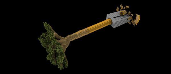 Deforestation для Майнкрафт 1.10.2