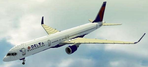 Boeing 757-200 для Майнкрафт 1.10.2