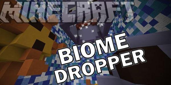Biome Dropper для Майнкрафт 1.10.2