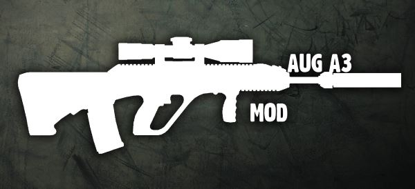 Штурмовая винтовка: AUG-A v 2.0 для Fallout: New Vegas