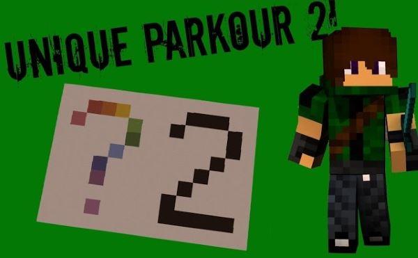 Unique Parkour 2 для Майнкрафт 1.10.2