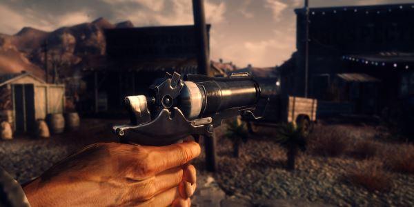 Rage (Settler pistol) v 1.2 для Fallout: New Vegas