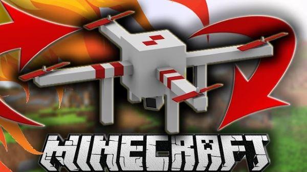 Drones для Майнкрафт 1.8.9