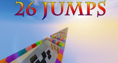 26 Jumps для Майнкрафт 1.10.2