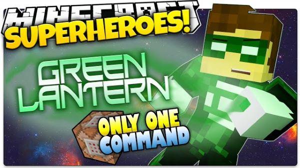 Green Lantern для Майнкрафт 1.8.9