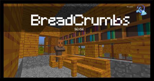 Bread Crumbs для Майнкрафт 1.10.2