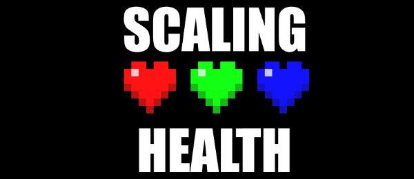 Scaling Health для Майнкрафт 1.10.2