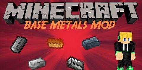 Base Metals для Майнкрафт 1.10.2