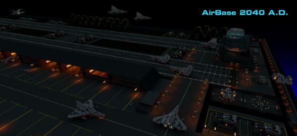 AirBase для Майнкрафт 1.10.2