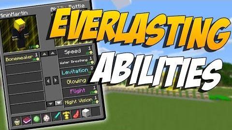 Everlasting Abilities для Майнкрафт 1.10.2