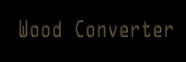 Wood Converter для Майнкрафт 1.10.2