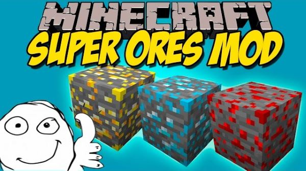 Super Ores для Майнкрафт 1.10.2