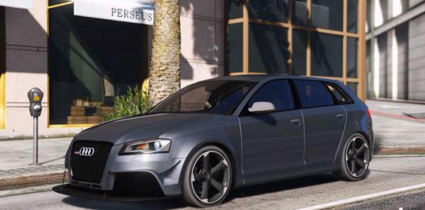 Audi RS3 для GTA 5