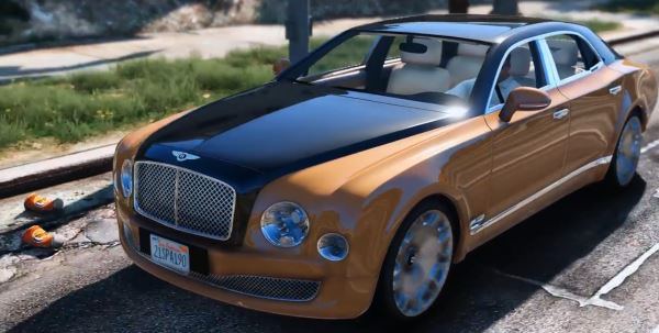 Bentley Mulsanne Mulliner 2013 для GTA 5