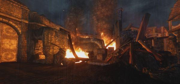 Ретекстур огня - Fire Retexture для TES IV: Oblivion