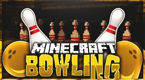 Bowling для Майнкрафт 1.10.2