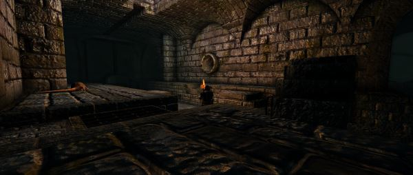 Обновлённая канализация - Sewers Retexture для TES IV: Oblivion