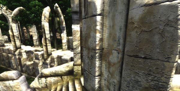 Ретекстур айлейдских руин - Ayleid Ruins Retexture для TES IV: Oblivion