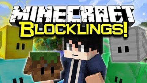 Blocklings для Майнкрафт 1.10.2