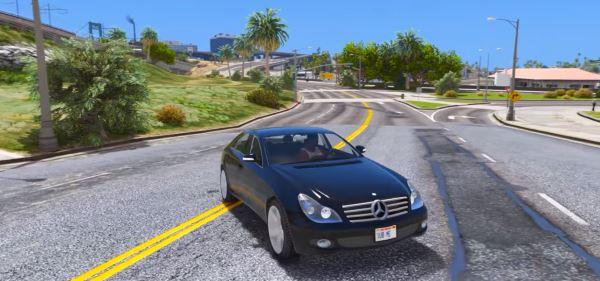 Mercedes-Benz CLS 500 W219 для GTA 5