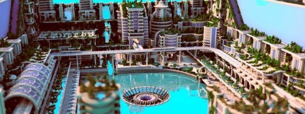 Banghai City для Майнкрафт 1.10.2