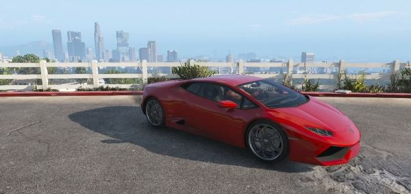 Lamborghini Huracan LP610-4 для GTA 5