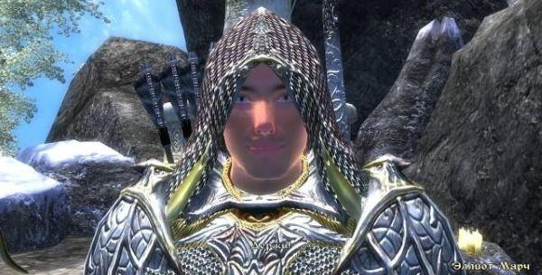 Компаньон Эллиот Марч для TES IV: Oblivion
