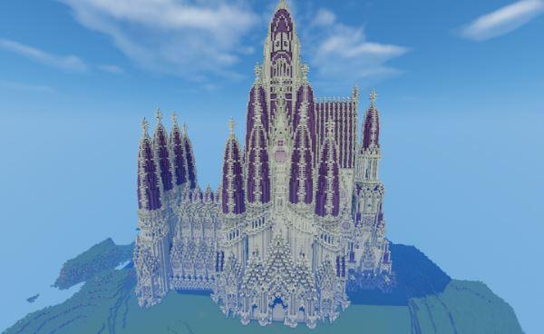 Cathedral для Майнкрафт 1.10.2