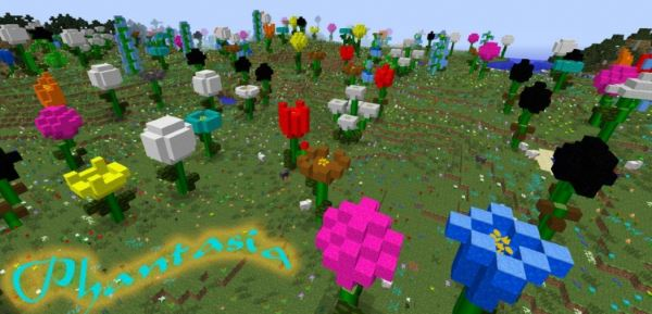 Flowercraft для Майнкрафт 1.10.2